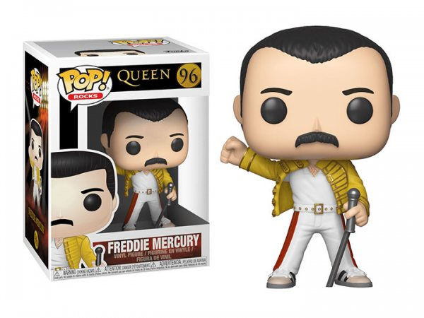 Funko Pop Queen Freddy Mercury Vinyl Figur