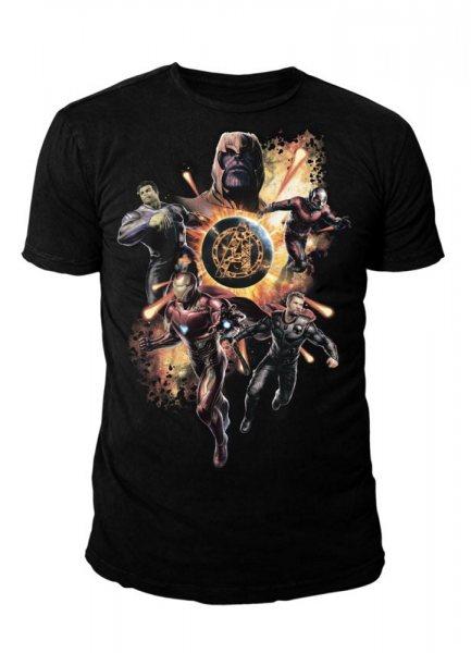 Avengers Endgame Logo Herren T-Shirt