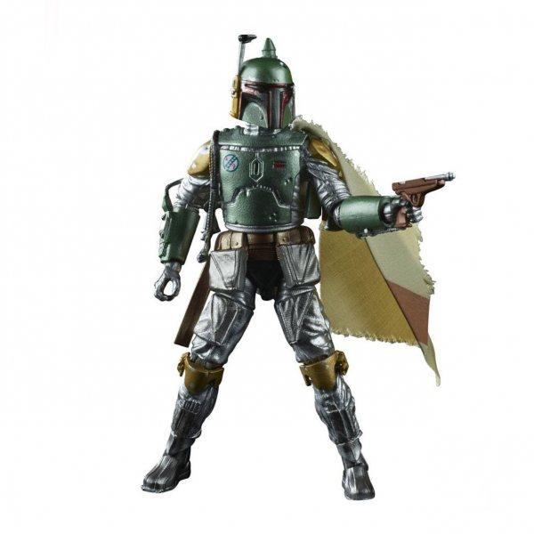 Star Wars Boba Fett Carbonized Hasbro Black Series Actionfigur