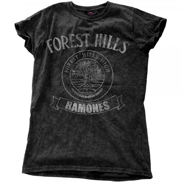Auschecken 4c229 d18cd The Ramones - Forest Logo T-Shirt Damen