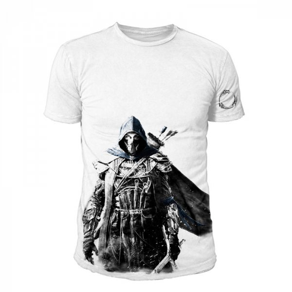 Elder Scrolls Online Breton T-Shirt Weiss