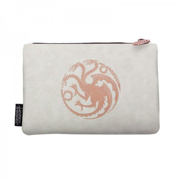 Game of Thrones Wappen Khaleesi Targaryen Drachen Damen Kosmetiktasche Bag Cosmetic