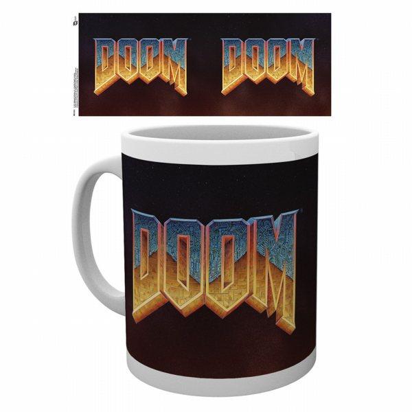 Doom Classic Logo Tasse
