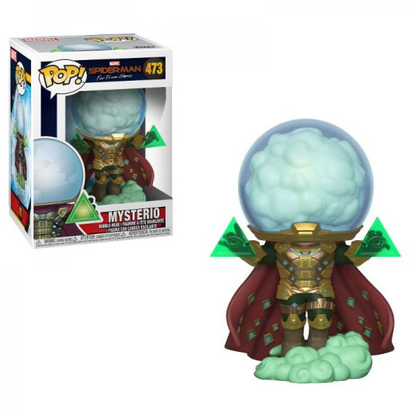 Spiderman Mysterio Funko Pop Vinyl Figur 473