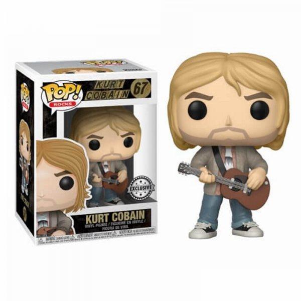 Nirvana Kurt Cobain Funko Pop Vinyl Figur 67