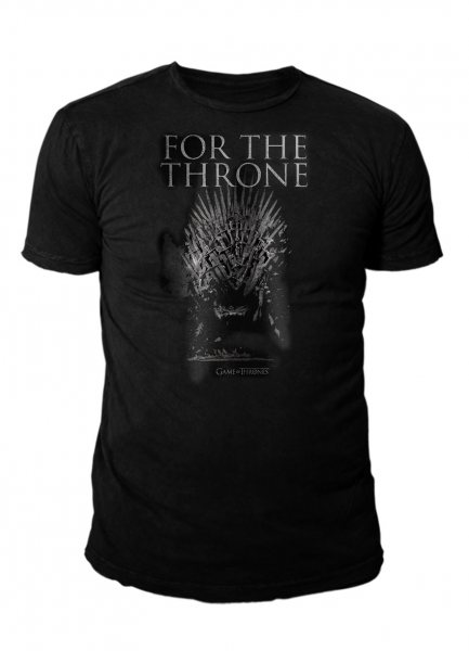 Game of Thrones For the Throne Logo T-Shirt