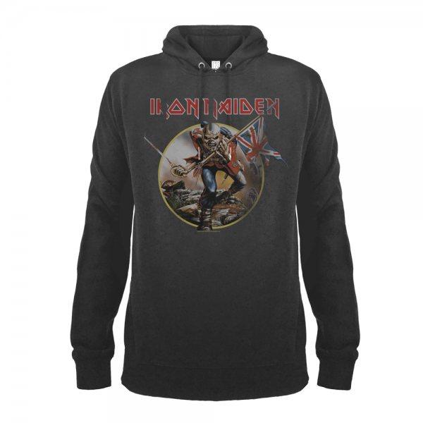 Amplified Iron Maiden Trooper Herren Kapuzenpullover