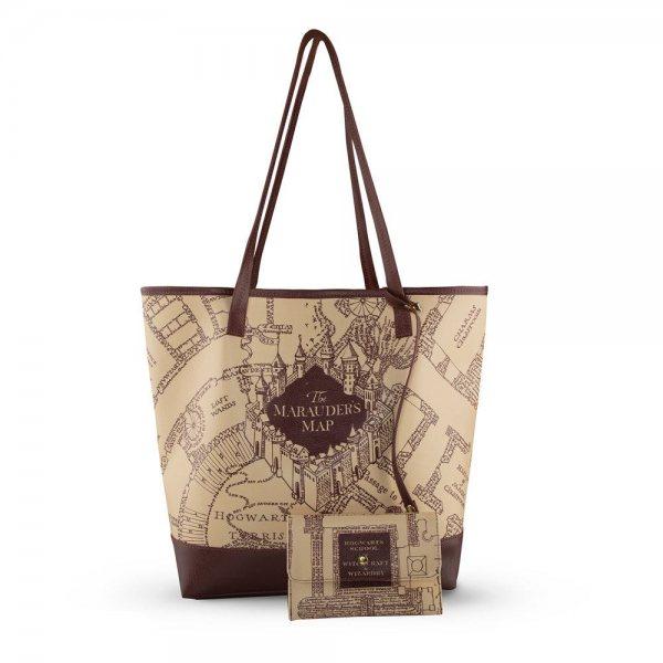Harry Potter Marauders Map Karte des Rumtreibers Shopper Tasche Damen