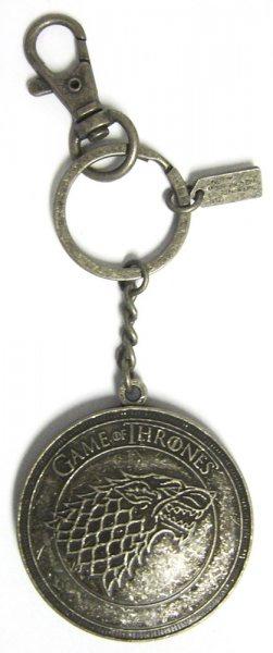 Game of Thrones Stark Wappen Schlüsselanhänger