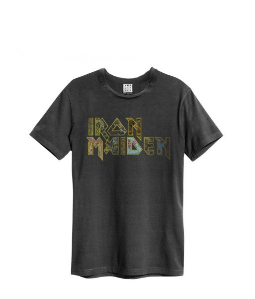 Amplified Iron Maiden Logo Herren T-Shirt