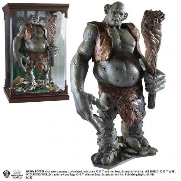 Harry Potter Troll Statue Figur Noble Collection
