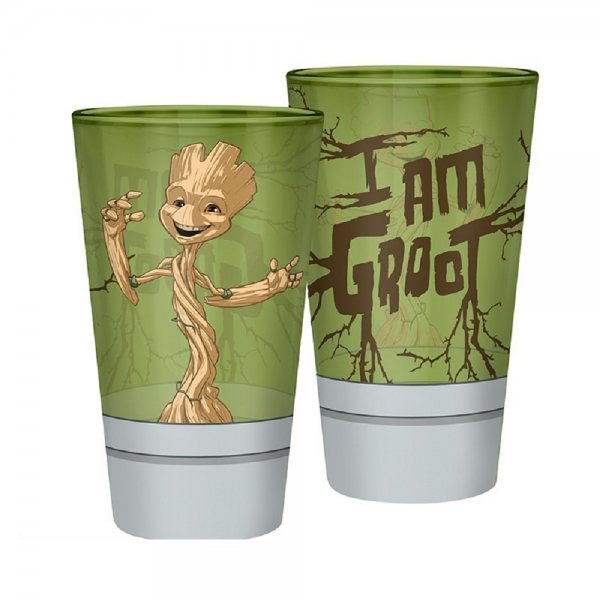 Guardians of the Galaxy Dancing Groot Trinkglas Metallic 400 ml
