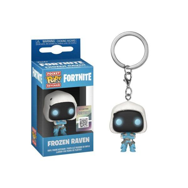 Fortnite Frozen Raven Funko Pop Vinyl Schlüsselanhänger