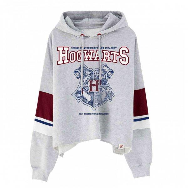 Harry Potter Hogwarts Logo Sweater Pullover Damen Kapuze