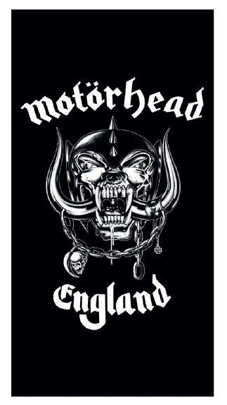 Motörhead England Logo Badetuch Strandtuch