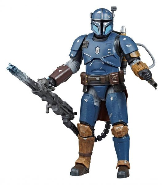 Star Wars The Mandalorian Heavy Infantry Black Series Actionfigur Hasbro