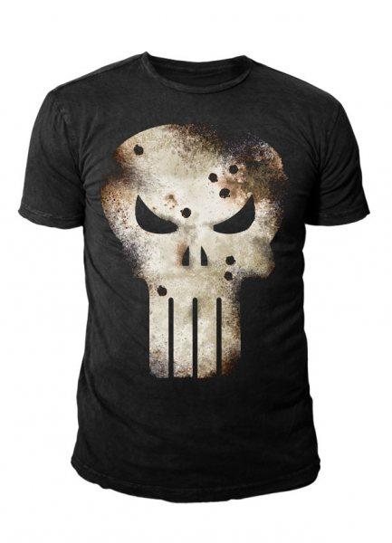 Punisher Gunshot Herren T-Shirt