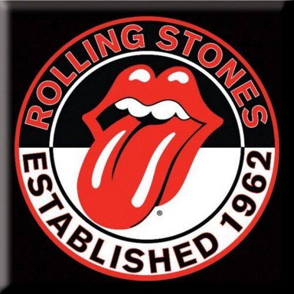 Rolling Stones Established 1962 Magnet