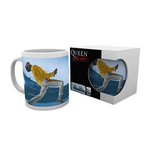 Queen Freddy Mercury Wembley Tasse 320 ml Geschenkbox
