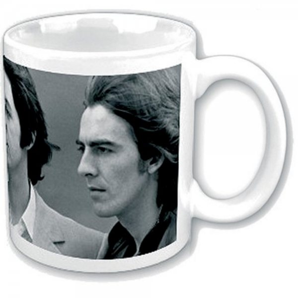 The Beatles Faces Band Tasse