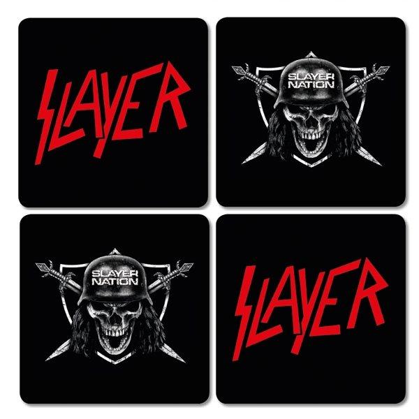 Slayer - Untersetzer - Logo