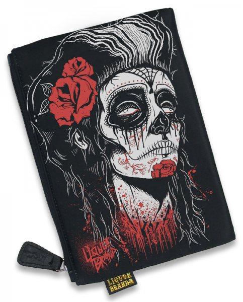 Liquor Brand Dead Girl Del Muerte Damen Kosmetik Tasche