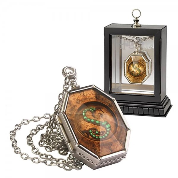 Harry Potter Salazar Slytherin Horkrux Medallion Kette Replika
