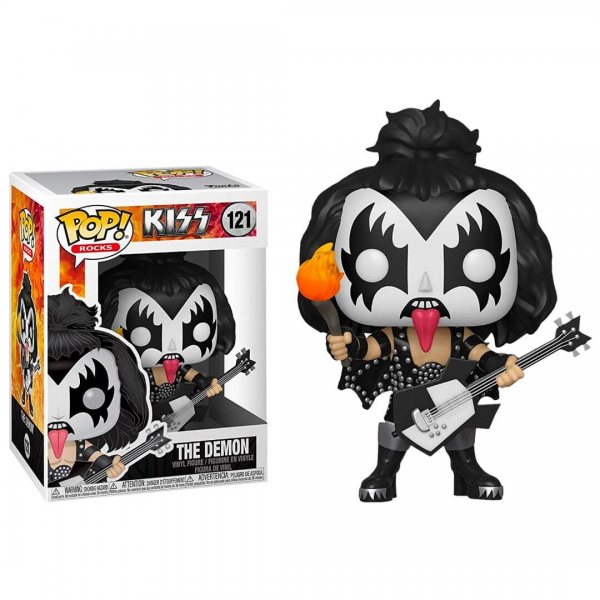 Kiss Demon Rock Funko Pop Vinyl Figur 121