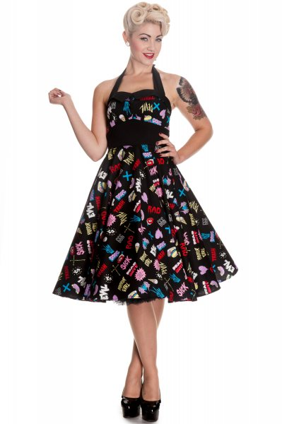 Hell Bunny - Horror Gal 50s Damen Kleid