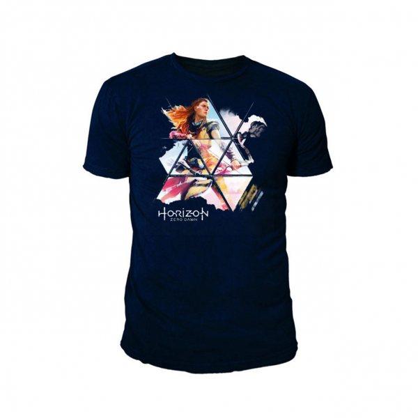 Horizon Zero Dawn Aloy T-Shirt Herren Navy
