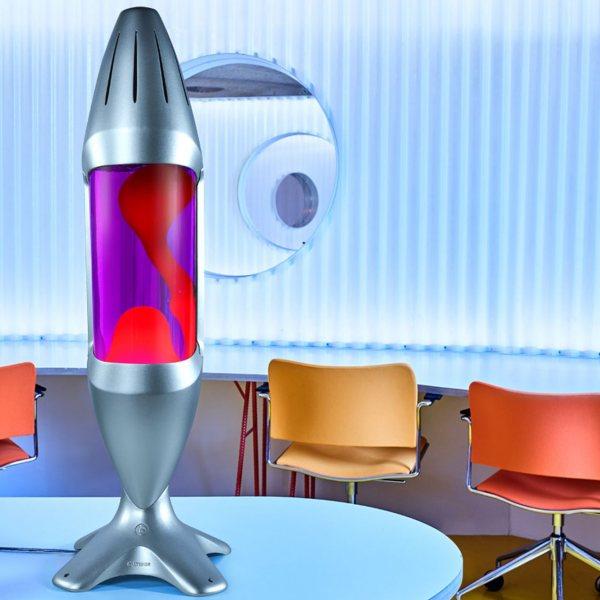 Mathmos iO Riesen Lavalampe Violett Rot kaufen