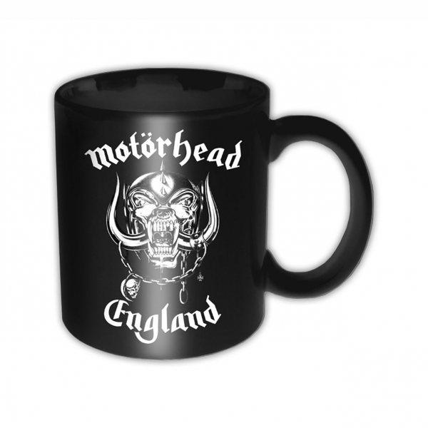 Motörhead England Logo Tasse Becher Schwarz