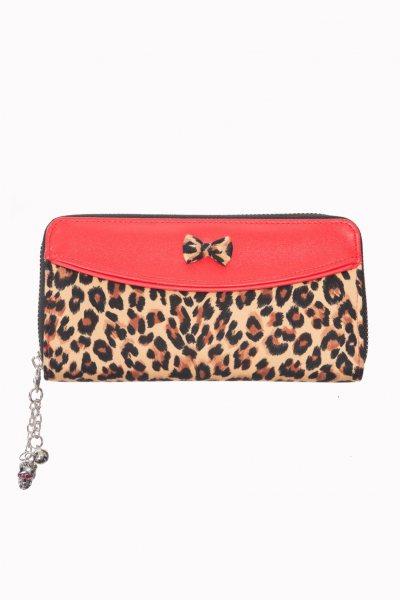Banned Leopard Damen Geldbörse