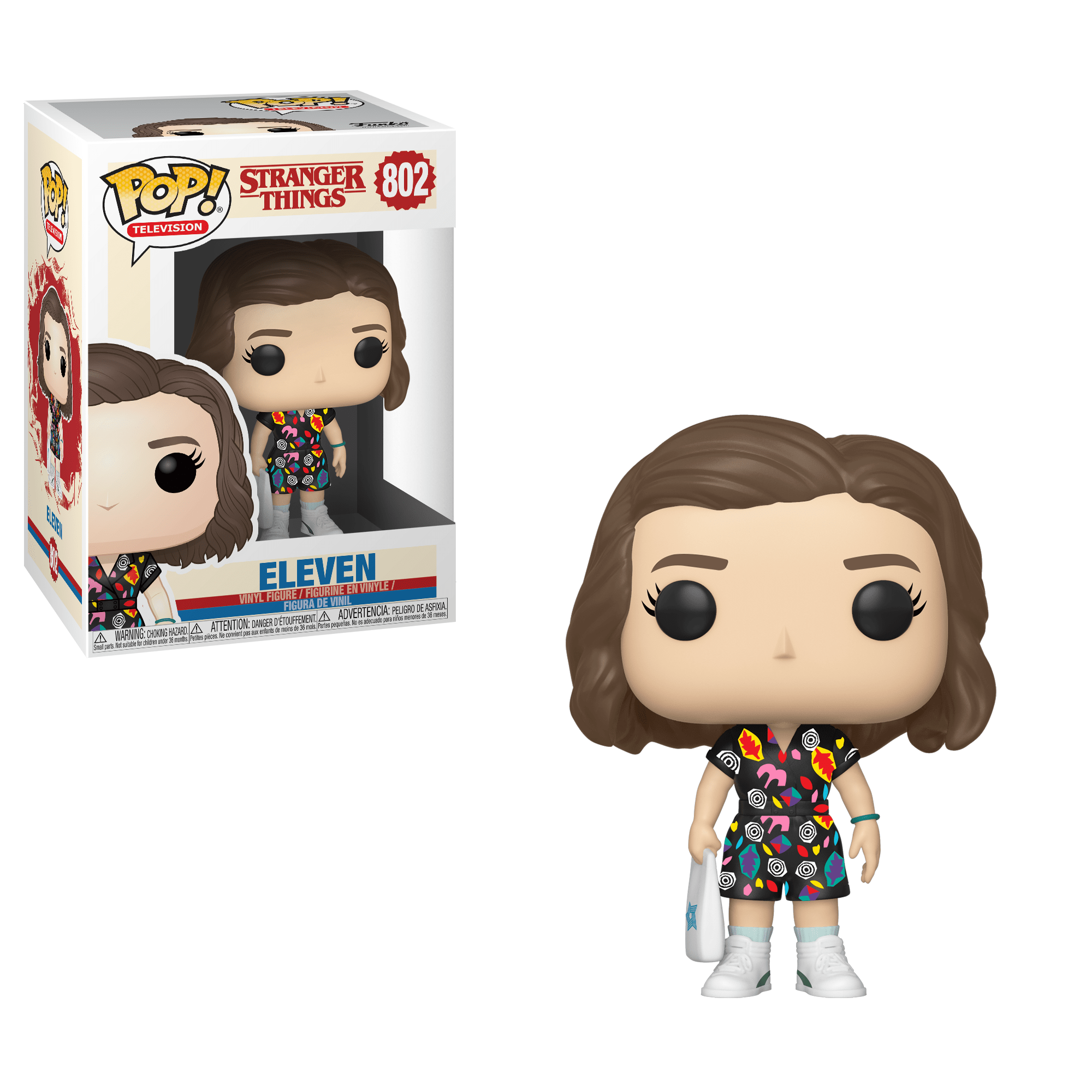 Stranger Things Eleven Funko Pop Vinyl Figur (Mall Outfit) #802
