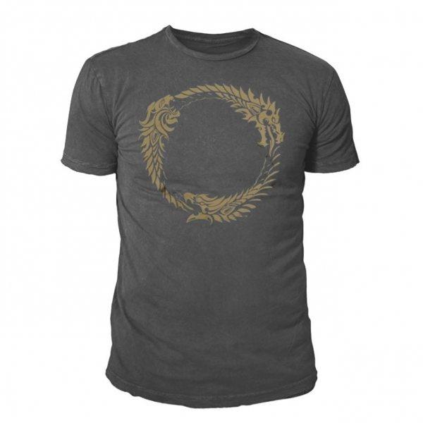 The Elder Scrolls Online Ouroboros T-Shirt Herren Grau