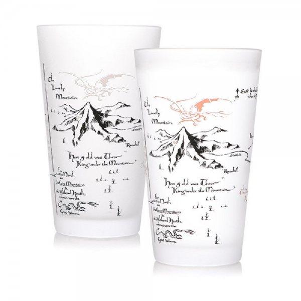 Der Hobbit Smaug Der einsame Berg Thermoeffekt Trinkglas