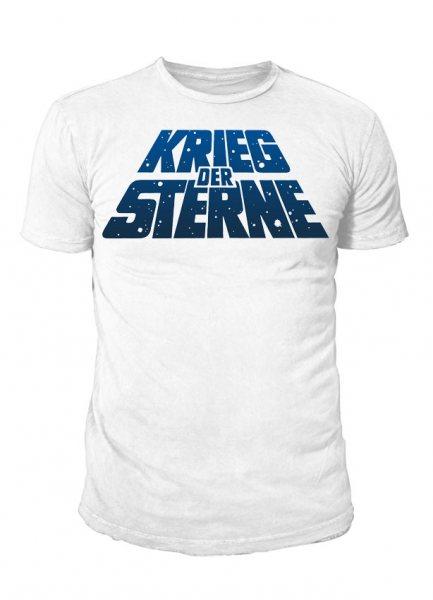 Star Wars - Logo Herren T-Shirt Weiß