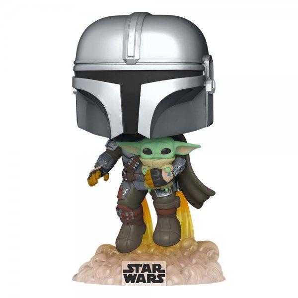 Star Wars The Mandalorian & Baby Yoda Funko Pop Vinyl Figur 402