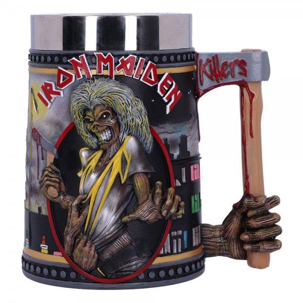 Iron Maiden Killers Resin Bierkrug Geschenkbox Nemesis Now