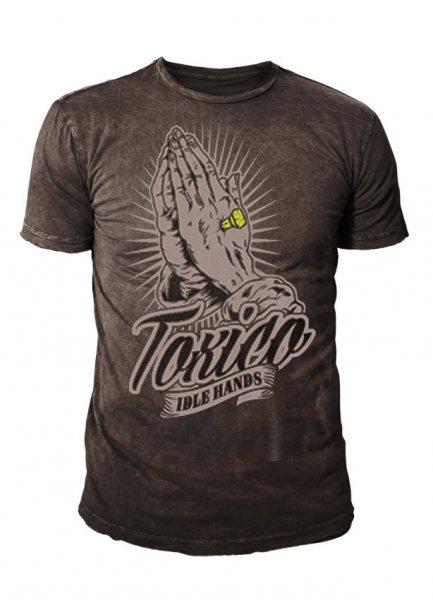 Toxico - Herren T-Shirt - Idal Hands (grau)