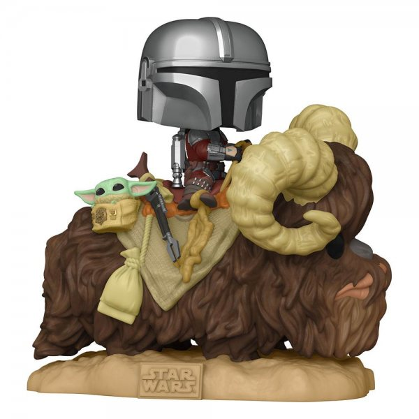 Star Wars The Mandalorian & Baby Yoda Bantha Funko Pop Ride Vinyl Figur