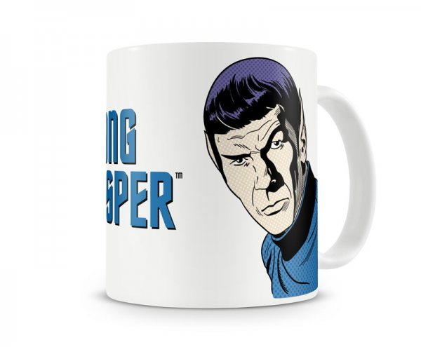 Star Trek Captain Spock Tasse