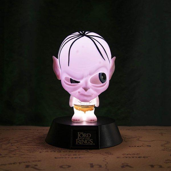 Herr der Ringe Gollum 3D Lampe Leuchte