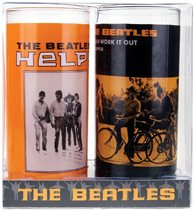The Beatles - Gläser 2er Set - Help!