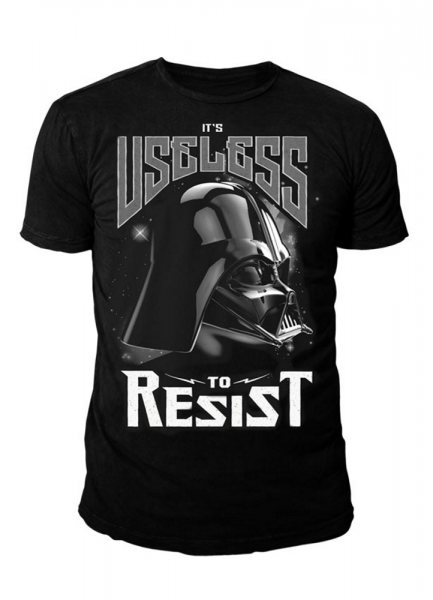 Star Wars Darth Vader Resist Herren T-Shirt