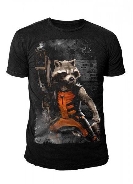 Guardians of the Galaxy - Rocket Herren T-Shirt