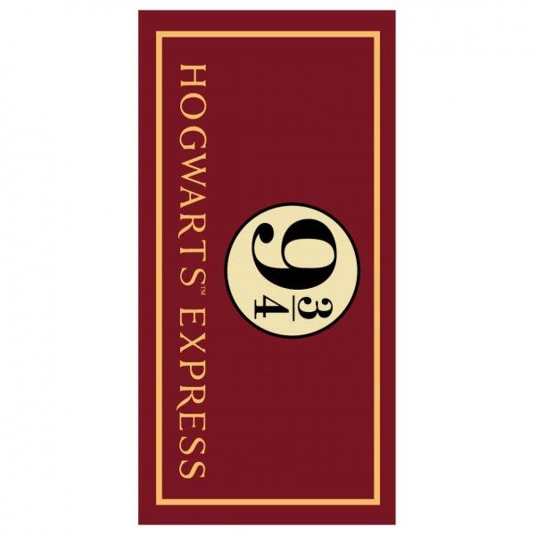 Harry Potter Hogwarts Express 9 3/4 Strandtuch Handtuch Kuschel