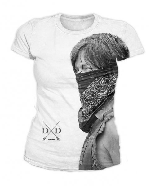 The Walking Dead - Damen T-Shirt - Daryl Sublimation
