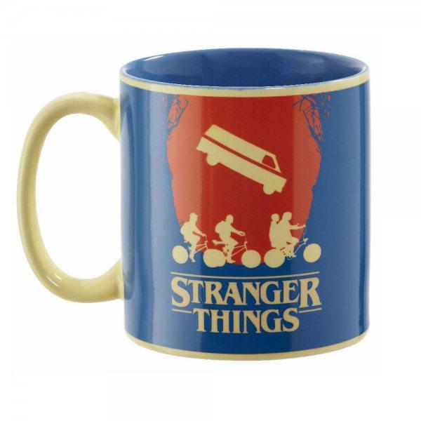 Stranger Things Coming Soon Thermo Effekt Tasse Becher Geschenkverpackung