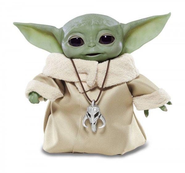 Star Wars Mandalorian Baby Yoda Child Hasbro Figur Animatronic Version